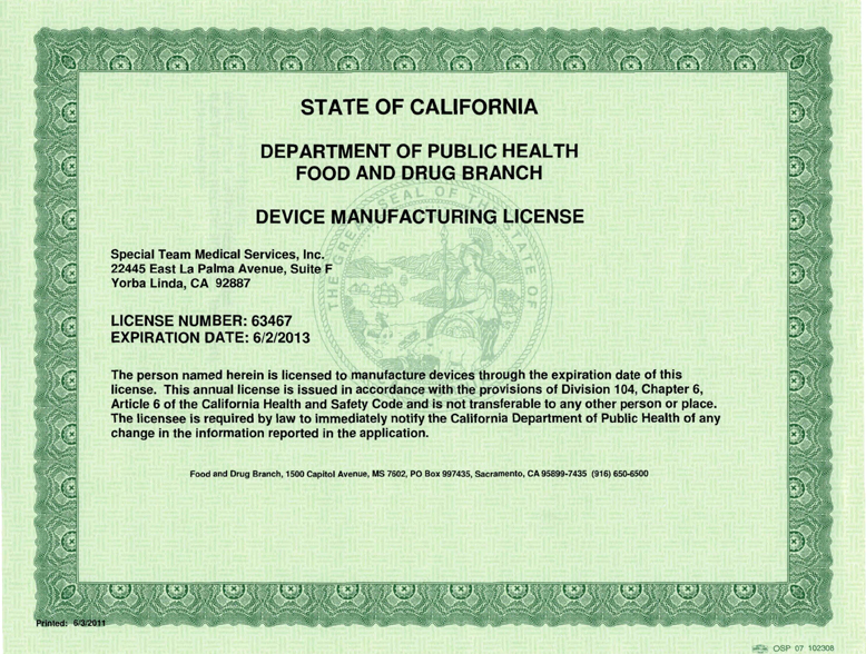 California home daycare license verification images frompo for Renew nc fishing license